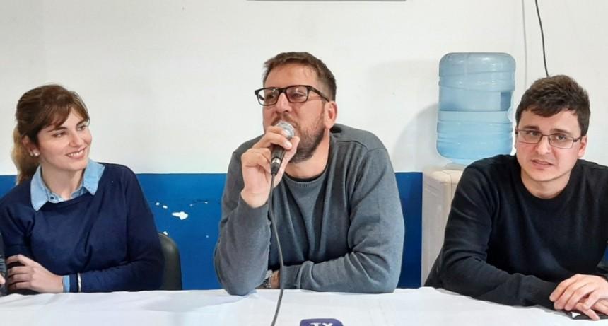 Candidatos del PJ a Diputados Nacionales estuvieron en Victorica