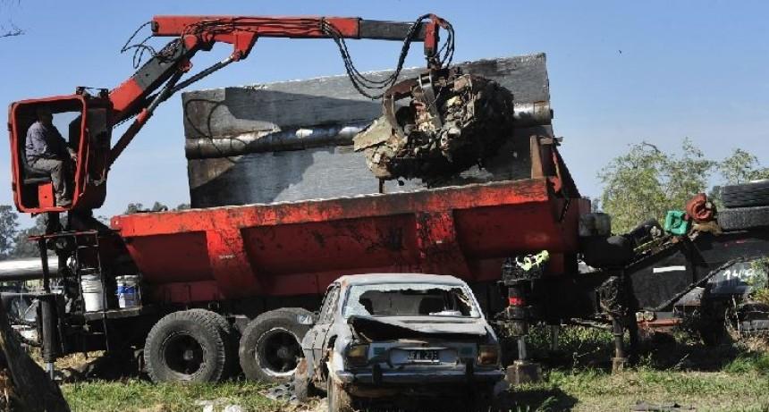 Victorica: Motos y vehículos secuestrados, que no sean retirados, serán compactados