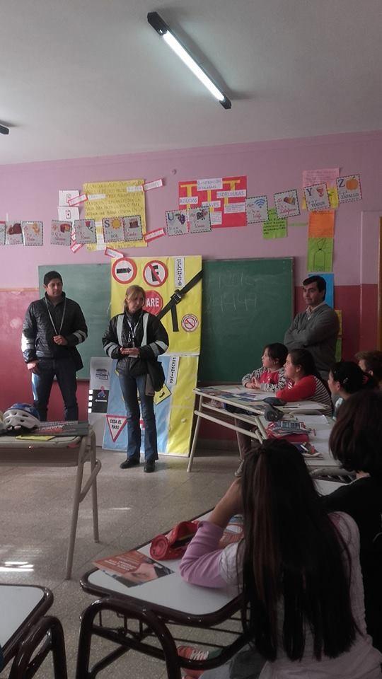 Se realizó una nueva charla de Educación Vial en Carro Quemado