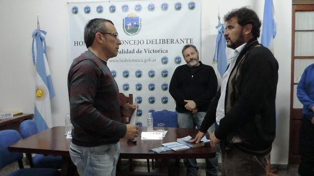 Jorge Rocca nuevo Concejal de Alianza