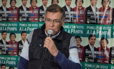 Jorge Diaz abrió local que apoya la lista 2 A