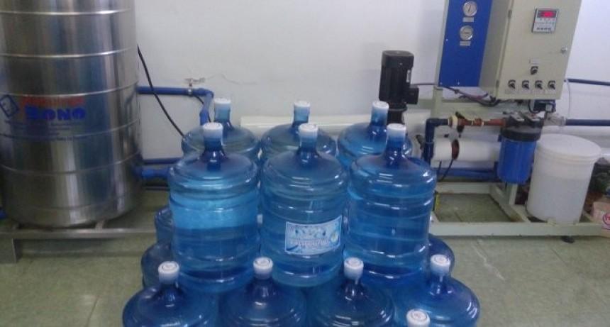 Ampliación de la red de agua potable en Luan Toro