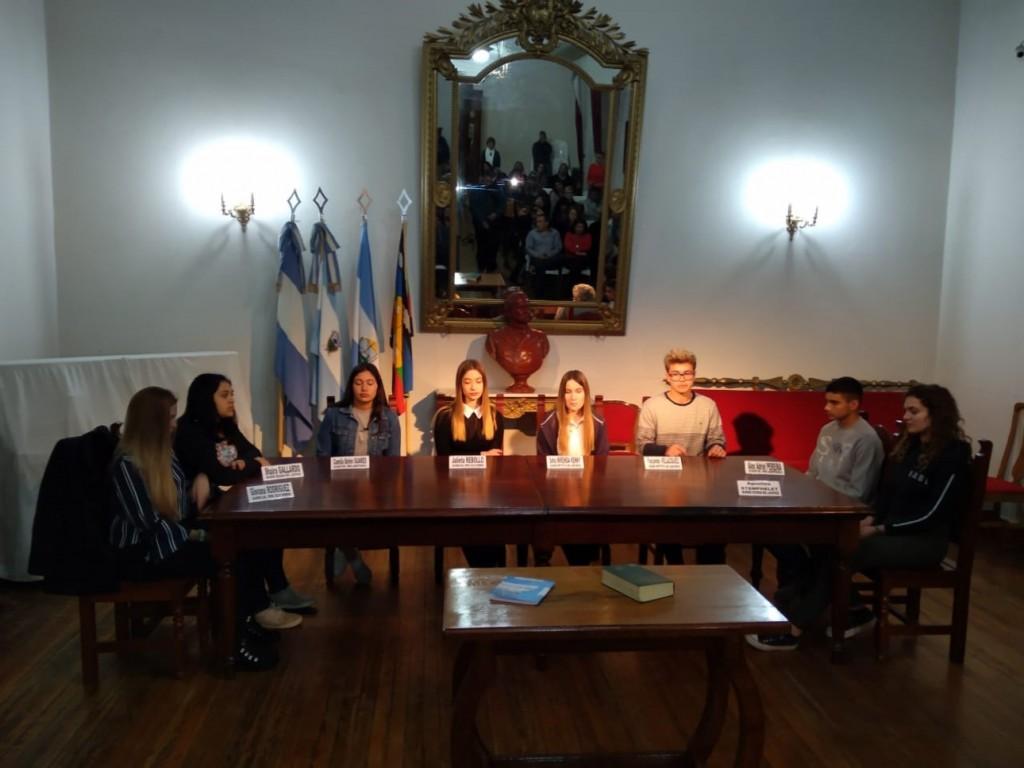 Asumieron los Concejales Estudiantiles de Victorica 2019
