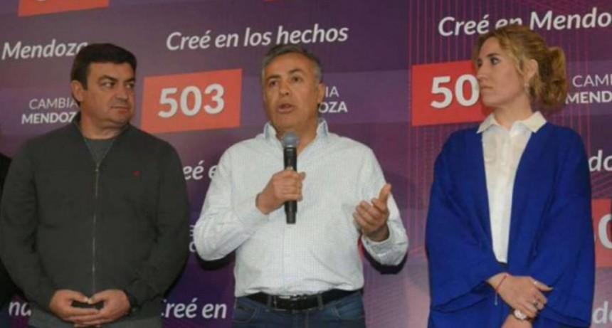 El Pres. de la UCR, Cornejo: En Mendoza, Alberto Fernández gana por 2,5 puntos