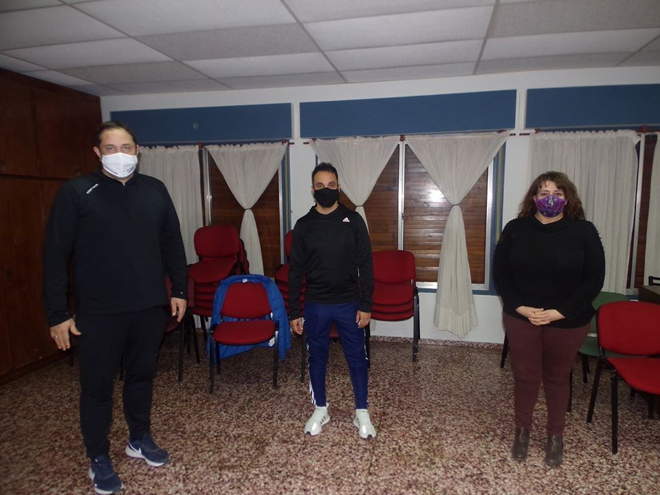 AHORA WINIFREDA CABECERA ZONA 6, CEFERINO ALMUDEVAR OFICIALIZO A CRISTIAN SAVARESE COMO COORDINADOR