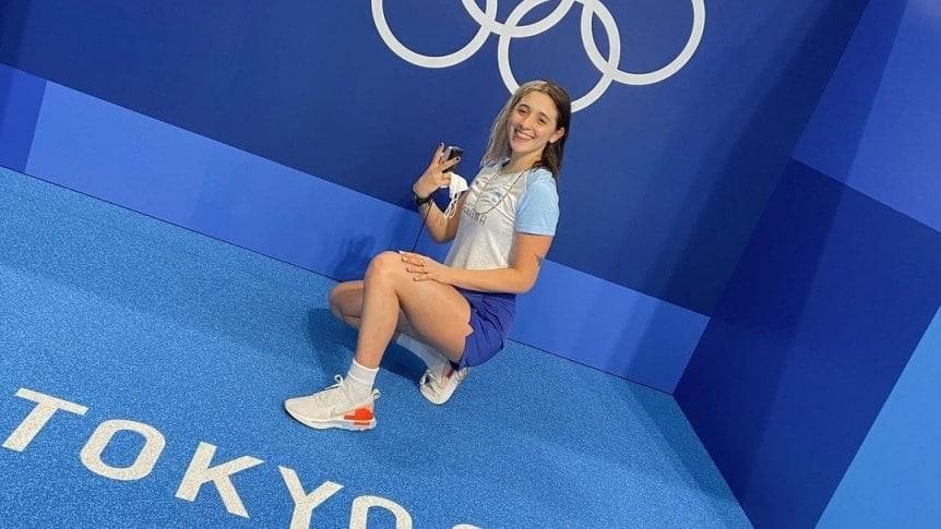 REDES SOCIALES EL DRAMA CUANDO NO TRIUNFAS.....Delfina Pignatiello restringió sus redes sociales después de los Juegos Olímpicos