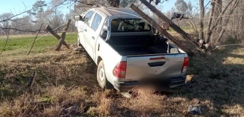 Tragedia en Rancul, un joven de Parera falleció tras chocar una columna y sufrir una descarga eléctrica
