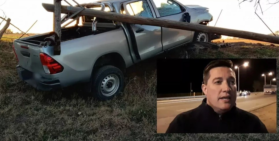 El comisario Cristian Dupuy afirmó que el joven falleció de forma instantánea tras la descarga