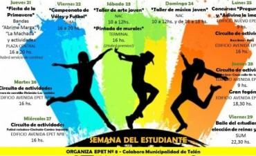 TELEN: Festejo en la Semana del Estudiante