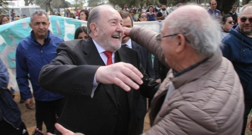 Una multitud recibió a Verna en la apertura de la Rural en General Pico