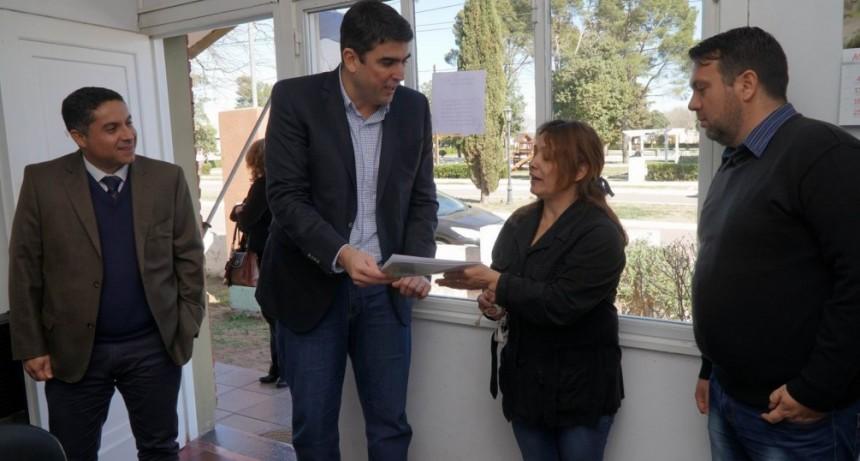 El Ministerio de Gobierno y Justicia realizó jornada institucional en Carro Quemado