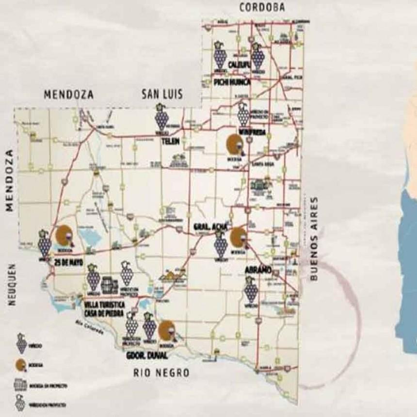 Telen en La ruta de los vinos pampeanos, en una charla de Turismo