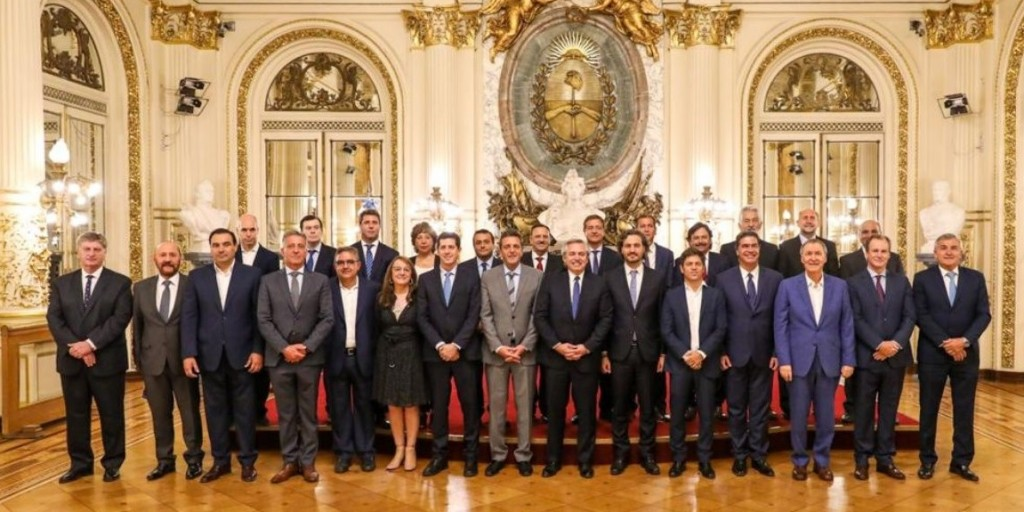 Gobernadores dieron respaldo al Presidente
