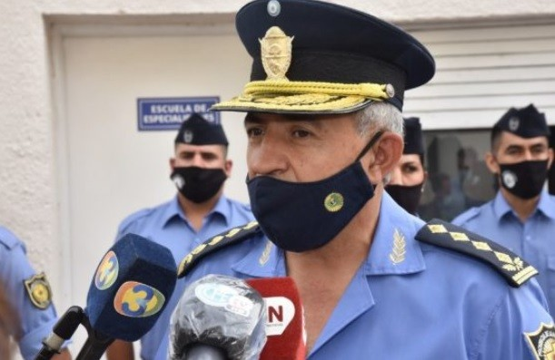 RENUNCIÓ EL JEFE DE LA POLICÍA, HÉCTOR LARA, Y SERÁ REEMPLAZADO POR DANIEL GUINCHINAU