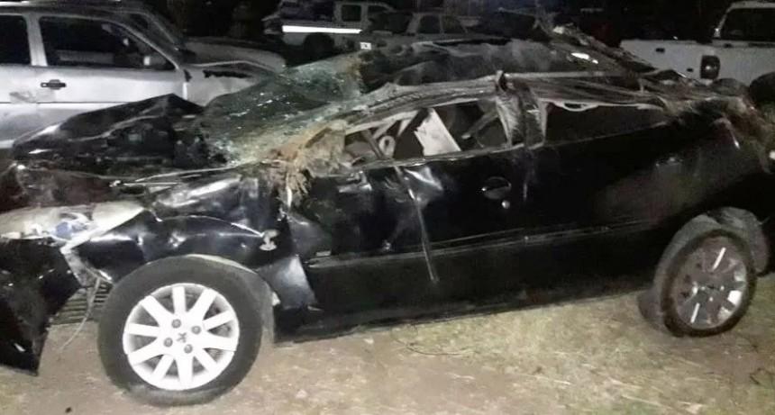 ACCIDENTE FATAL: MUERE UN VICTORIQUENSE EN SAN LUIS
