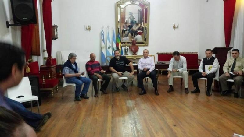 El Ministro Tierno en Victorica