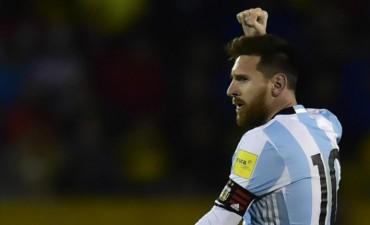 Lionel Messi brilló en Quito y le da la clasificación a la Argentina ante Ecuador