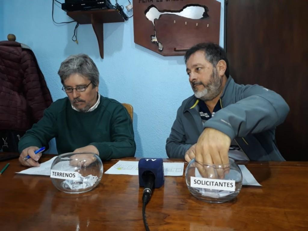 SORTEO DE TERRENOS FISCALES (LISTADO, PARCELA Y MANZANA))