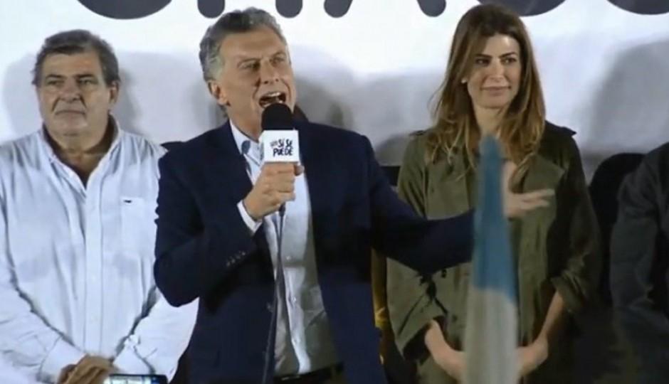ACTUALIZA EL GPS MAURICIO....Que escuche todo Corrientes!, pidió Macri en... Chaco