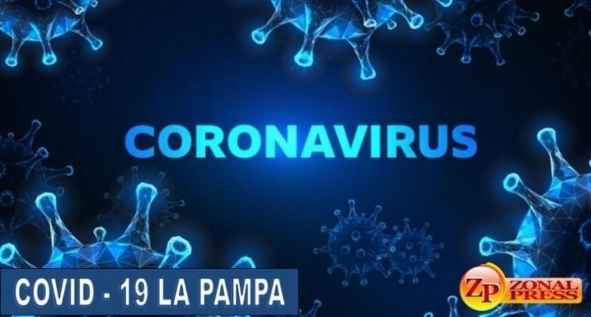 La Pampa:  suma 17 casos, hay casi 100 activos pero el índice de positividad sigue bajo