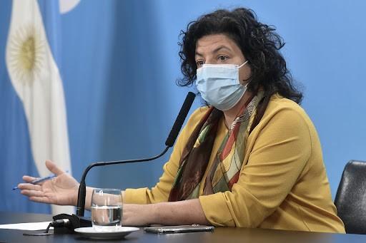 Vizzotti anunció que se comenzarán a aplicar terceras dosis de vacunas contra el coronavirus