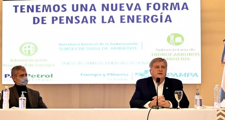 """El Gobierno de La Pampa anuncio la licitación del área hidrocarburífera Medanito Sur con el objetivo """"de que en 20 años seamos dueños de nuestra energía"""""""