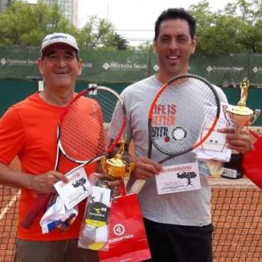 Veteranos : Tenis en Santa Rosa con la participación de Victoriquenses