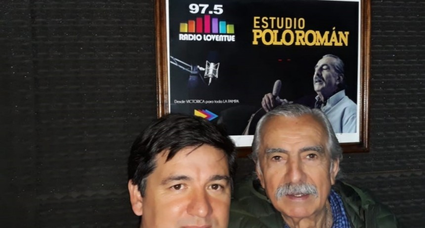 "Radio Loventue homenajeó a ""Polo"" Román"