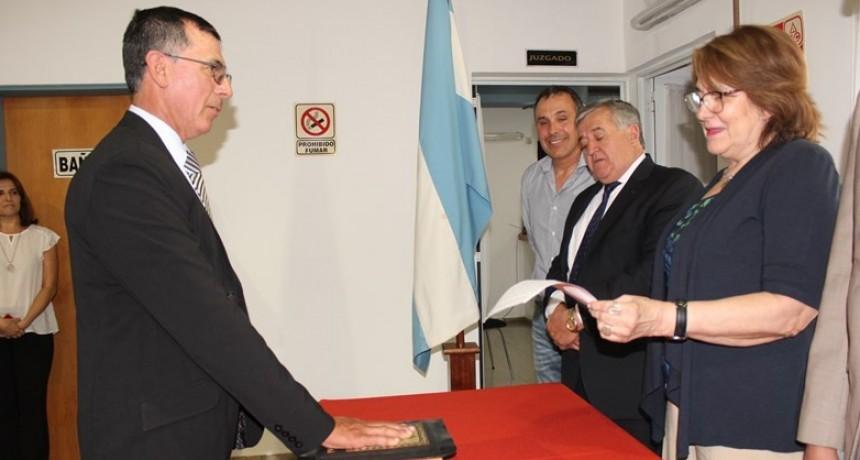 Victorica: Carlos Espínola asumió como juez de Control