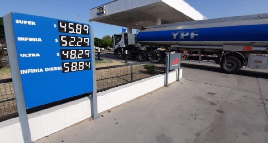 Subieron las naftas: la Súper ya superó los $45 en el oeste