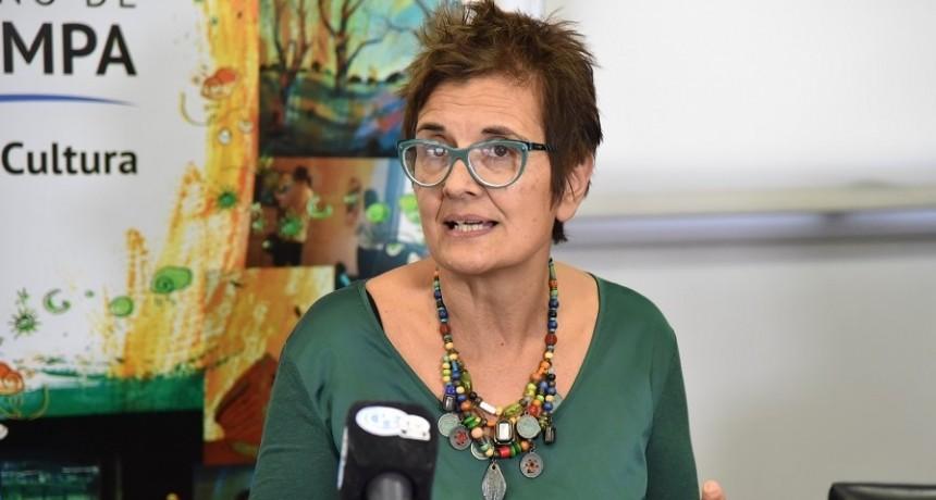 Maggio respaldó al gabinete de Ziliotto: «Muchaches, soy mujer y estoy acá»