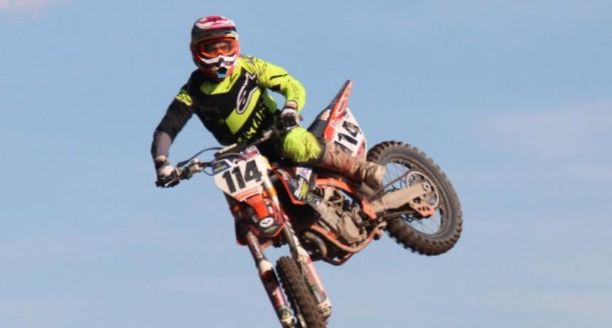 Motocross: Sebastian Sanchez, ganó y es nuevamente Campeón