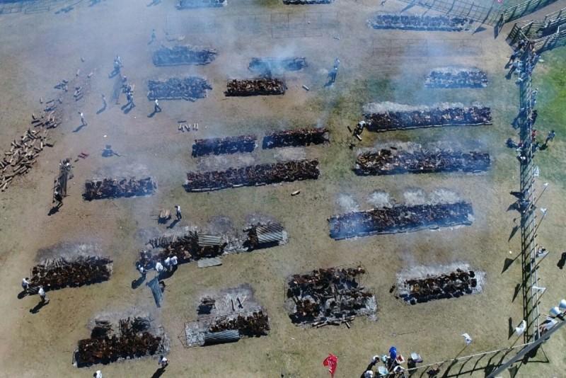 Uruguay le quitó a General Pico el récord guiness del