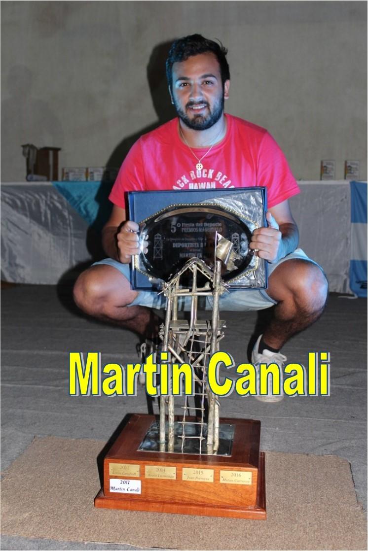 Martin Canali Deportista del Año