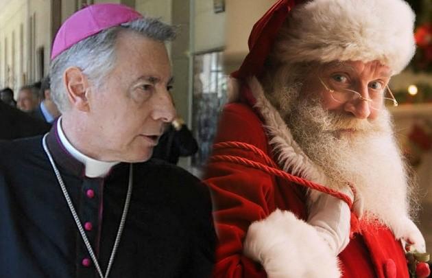 Papá Noel es un representante del imperialismo....Monseñor Aguer