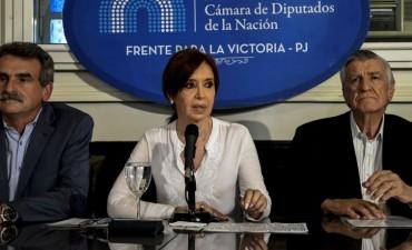 Cristina denunció persecución y que la quieren callar