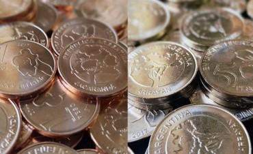 Nuevas monedas : El Calden sera una de las plantas que estará junto a otras variedades