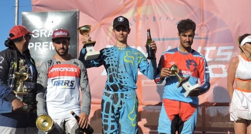 Roberto Toledano ternado para los Caldén de Plata en Motocross