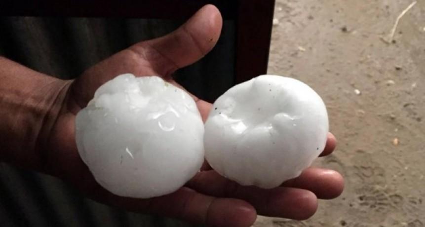 Anchorena (S.L.), La Maruja , Luiggi y Pico afectados por intensa pedreada