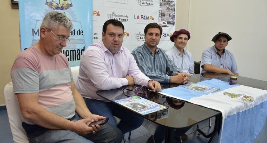 Anunciaron nueva edición de Fiesta Nocturna de Jineteada y Folclore en Carro Quemado