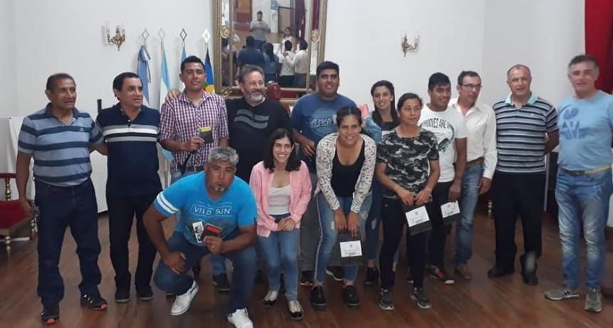 FINALIZÓ LA PRIMERA ETAPA DEL CURSO DE FORMACIÓN DE ÁRBITROS DE FÚTBOL