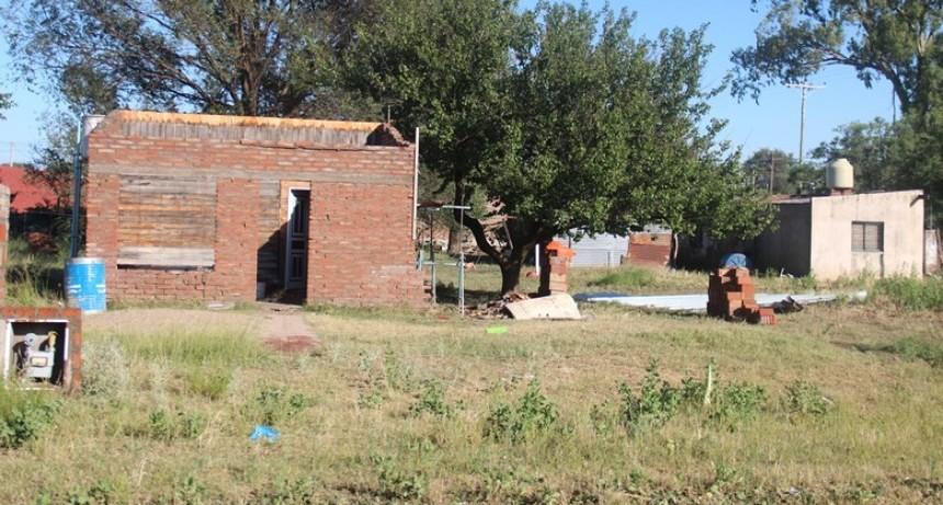 110 mm, viento, piedra, azotaron a Victorica y zona