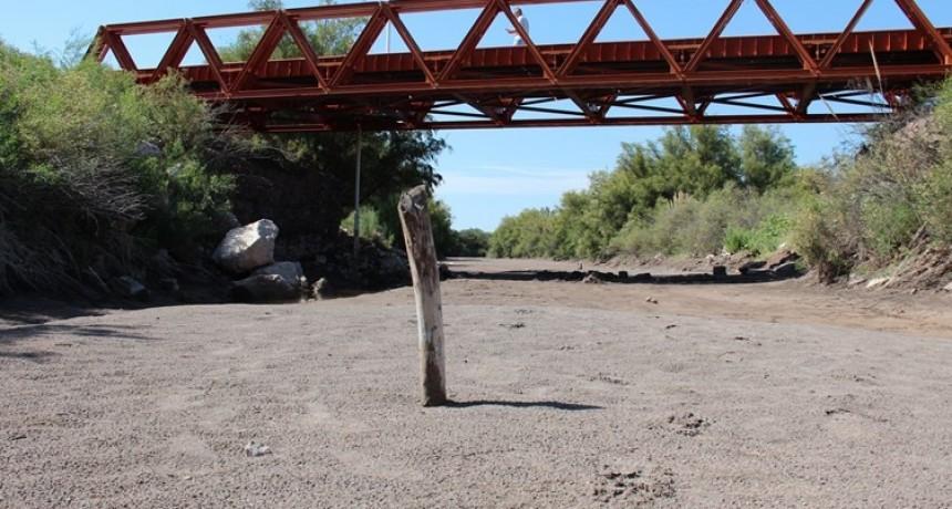 La Pampa constató que el Atuel ya está totalmente seco y recurre a la Corte para denunciar a Mendoza