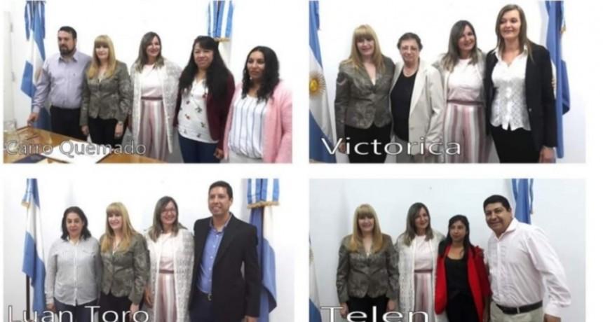 Juraron jueces de Paz del Departamento Loventue y otras localidades