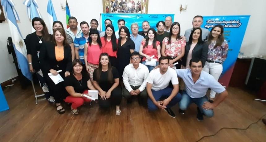 VICTORICA: NUEVO GABINETE MUNICIPAL