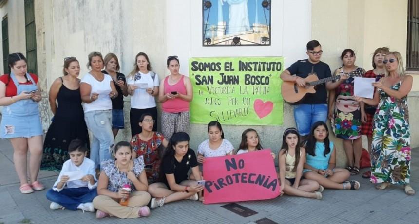 Victorica en Canta Argentina: con una canción de Charly García, más de 300 ciudades de todo el país hicieron un homenaje a la solidaridad